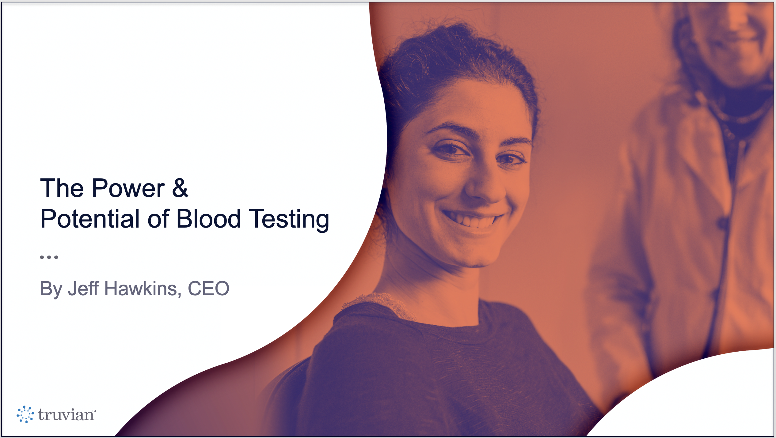 why the single drop of blood test didn't work.